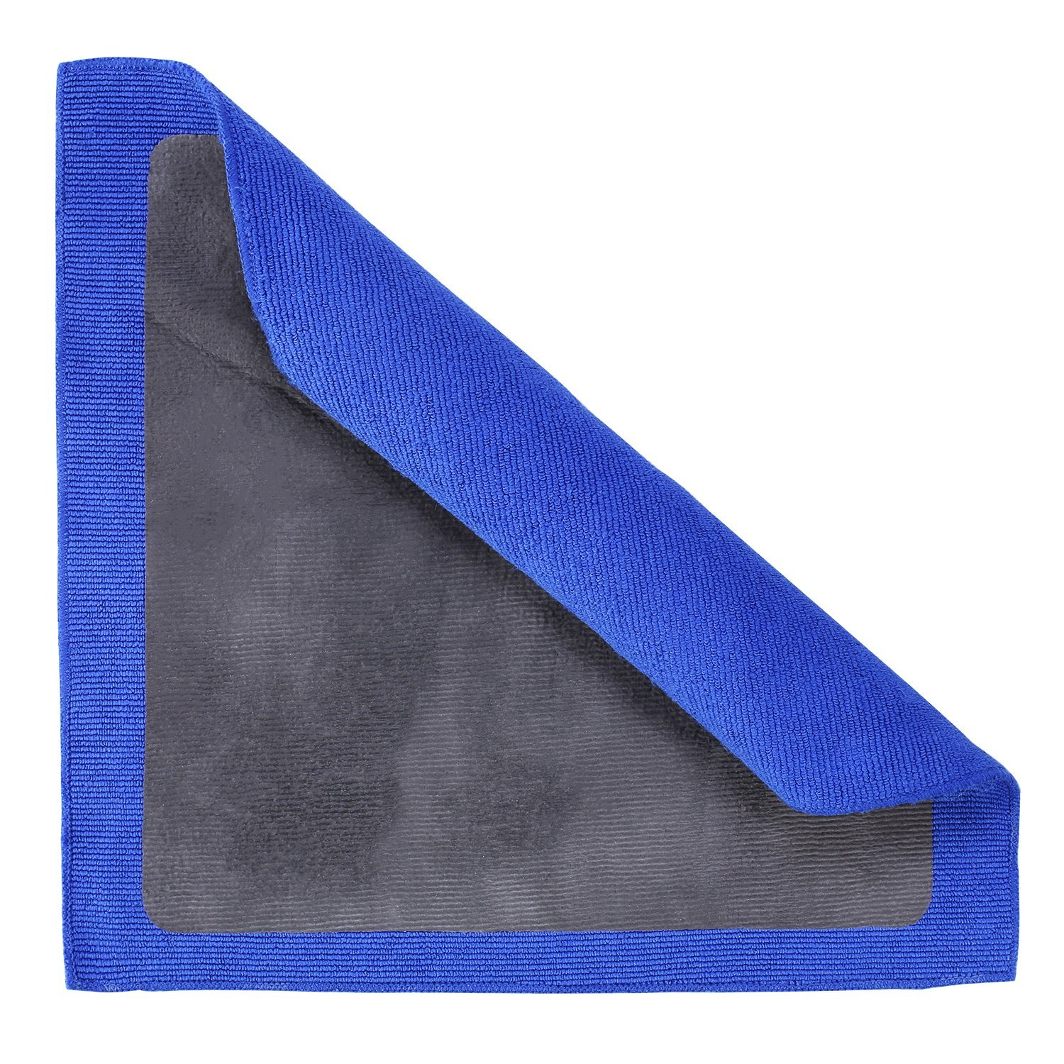 JIANFA Clay Towel Microfiber Claying Towel Magic Clay Bar Towel Fine Grade Detailing Clay Towel Surface Pre Clay Towel for Car Care 1 Piece Blue