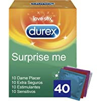 Durex Preservativos Mixtos Surprise Me - 40 Condones