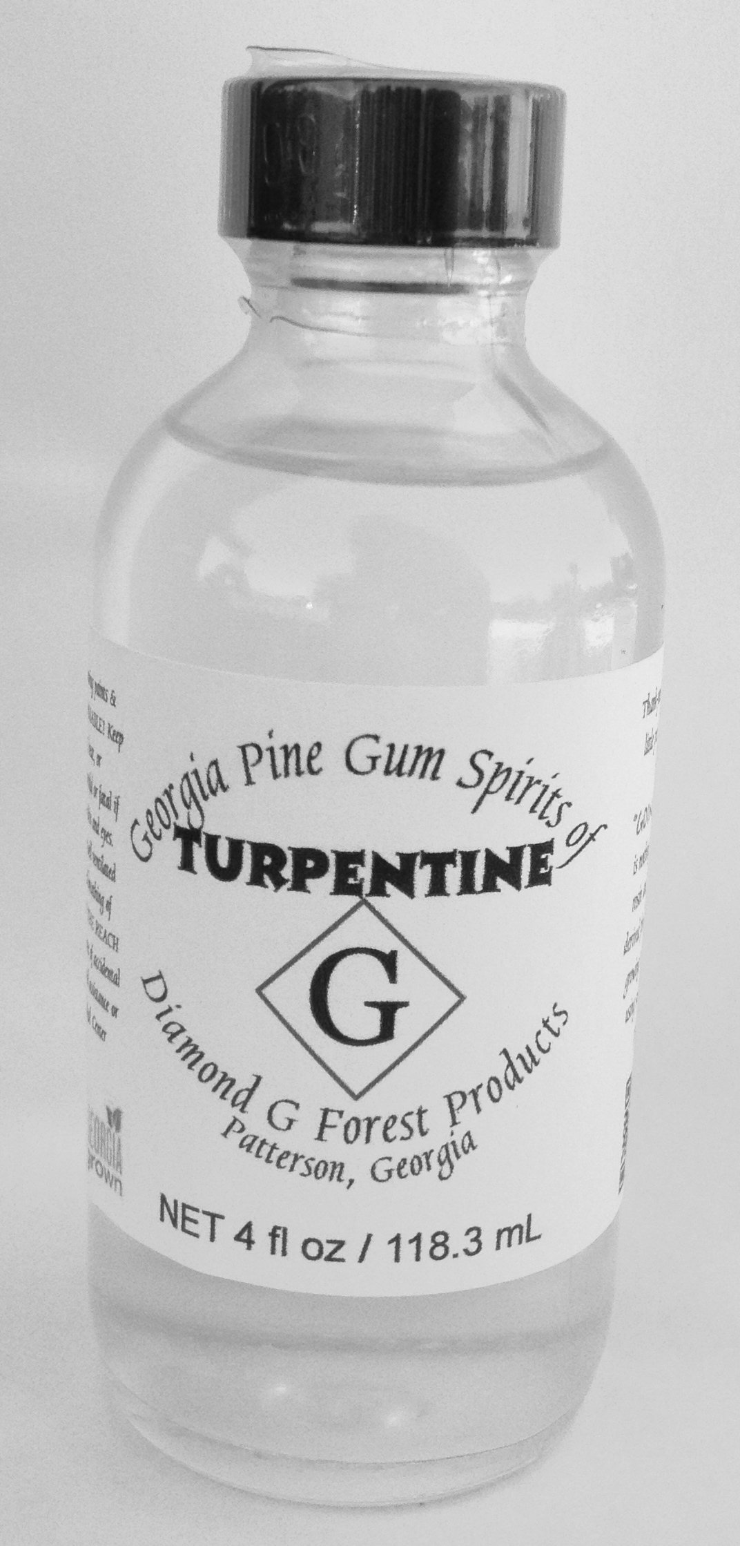 4 Oz 100% Pure Gum Spirits Of Turpentine 2