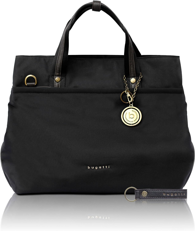 /él/égant sac shopping noir Bugatti Contratempo Sac cabas nylon RFID pour femmes