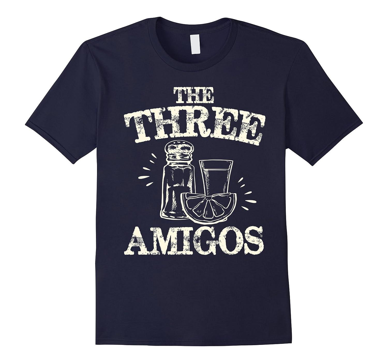 The Three Amigos Shirt Tequila Salt Lime Cinco De Mayo Party-Vaci