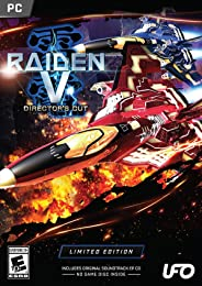 Raiden V: Director's Cut Limited Edition With Original Soundtrack EP CD - PC