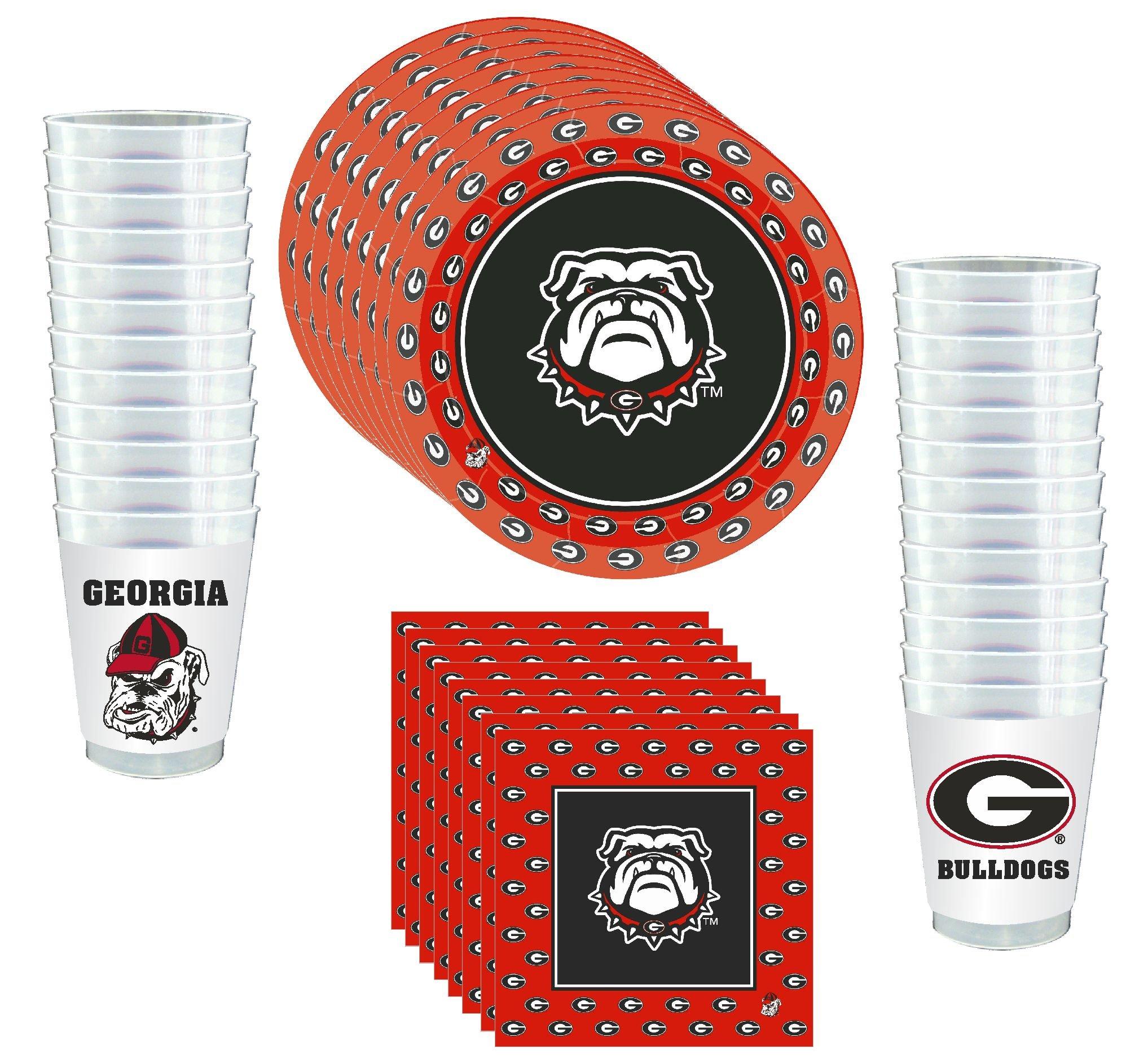 Westrick Georgia Bulldogs Party Supplies 81 Pieces