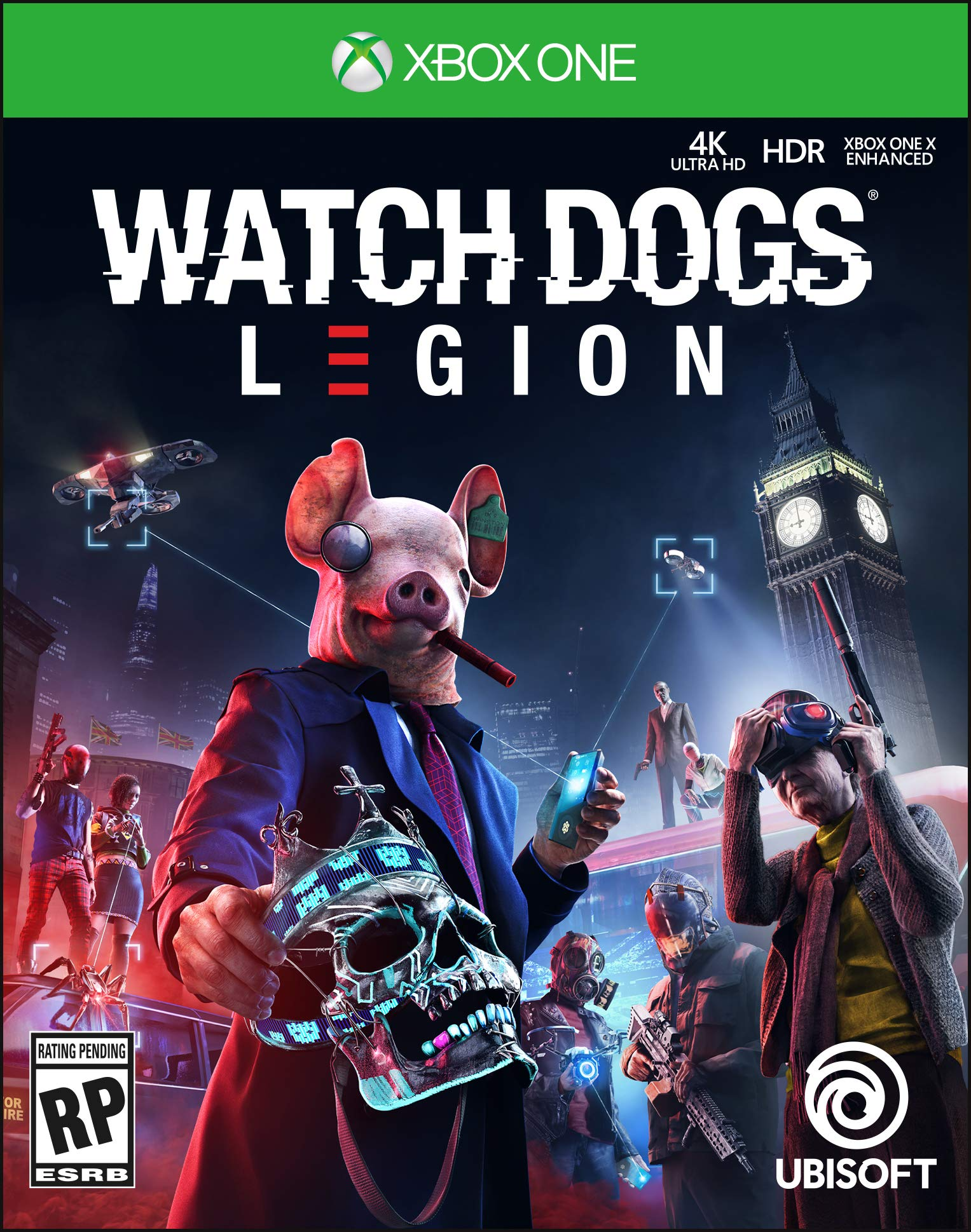 Watch Dogs Legion Standard Edition - Xbox One [Digital Code]