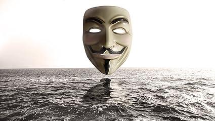 Posterhouzz Movie V For Vendetta Mask Sci Fi HD Wallpaper Background Fine Art Paper Print Poster