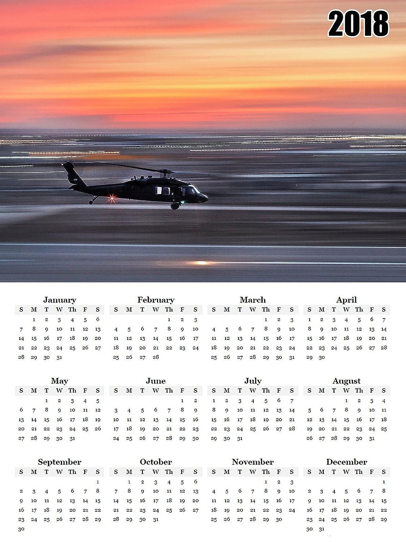 2018年カレンダーポスターUS Military Armyカレンダーポスター   B0772SPLHN