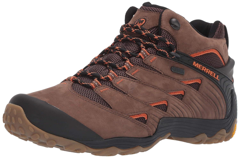 32fca13750f Merrell Men's Chameleon 7 Mid Waterproof Hiking Shoe
