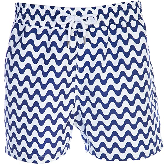 d8b0d76818 Frescobol Carioca Copacabana Swim Short in Navy Blue: Amazon.co.uk: Clothing
