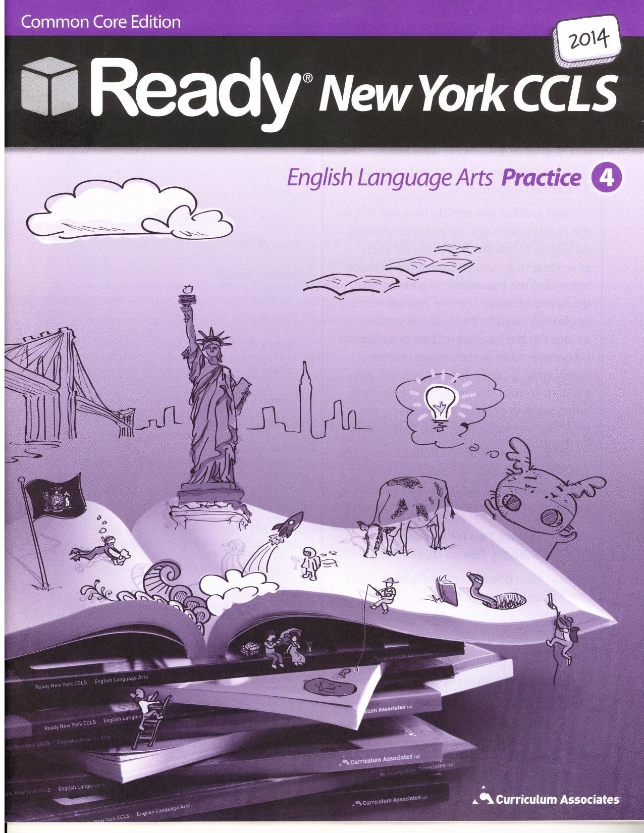 Amazon.com: Ready New York CCLS: English Language Arts Practice 2014, Grade  4 (9780760983652): Curriculum Associates: Books