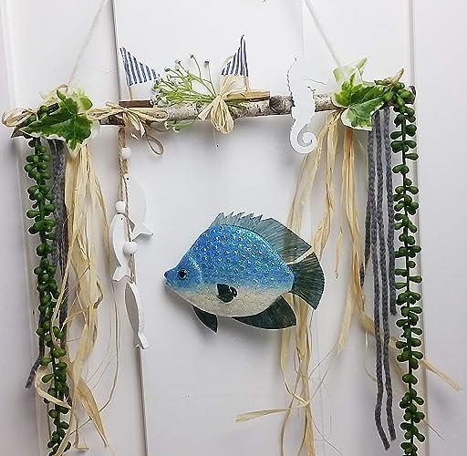 Fensterdeko Badezimmer Fisch Amazonde Handmade