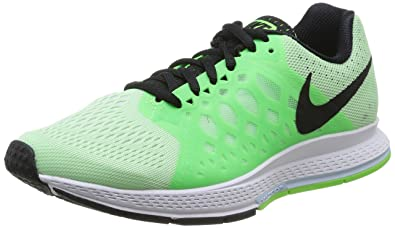 new styles c0e61 5ed2a Nike Zoom Pegasus 31 (White Bright Mango Hyper Grape Black) Women s
