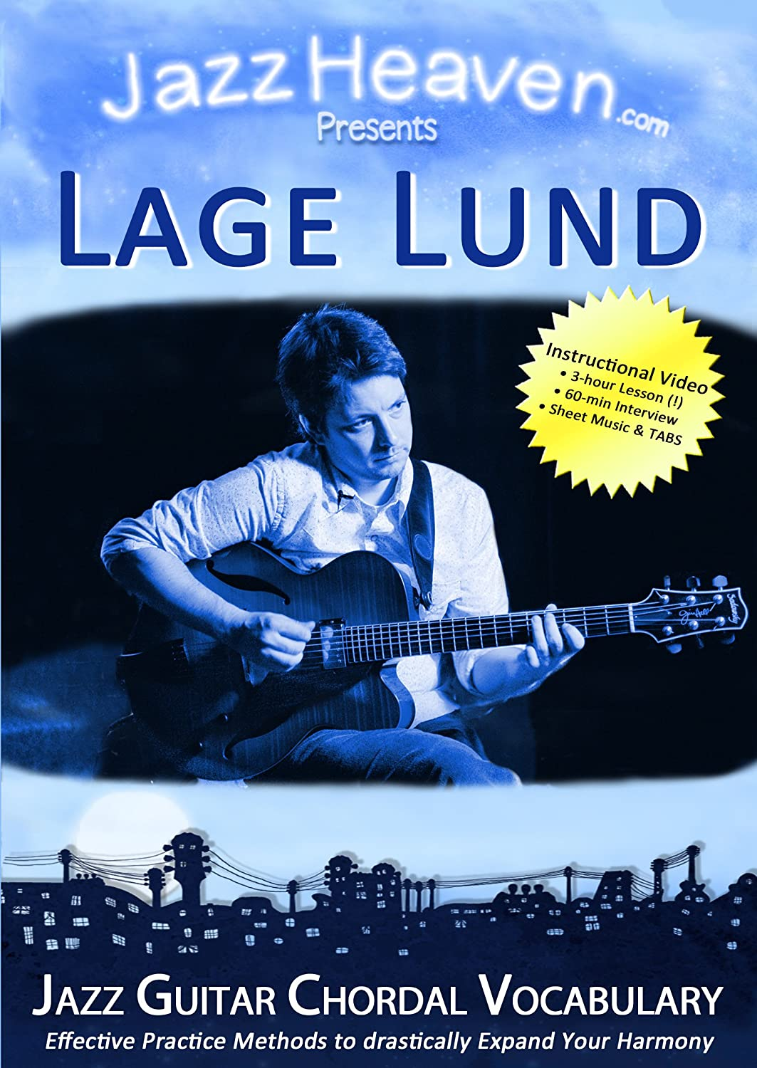 Jazz Guitar Chords DVD Lage Lund Jazz Guitar Chordal Vocabulary Harmony Improvisation Comping Method Learn Video Lessons