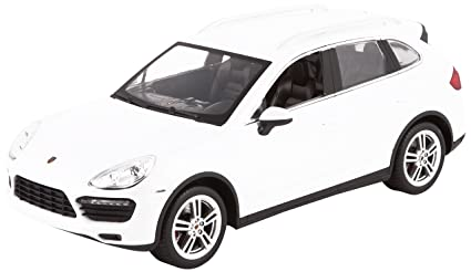WebRC Porsche Cayenne Turbo RC Car (1:14 Scale), White