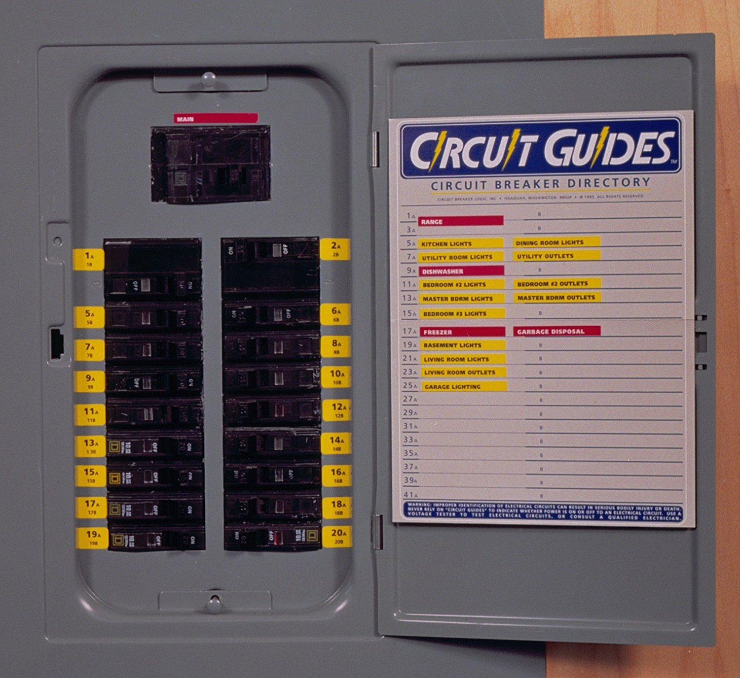 Best Rated In Circuit Breaker Panels Helpful Customer Reviews Panel Box Addition Residential You Get 149 Identifier Labels Plus A