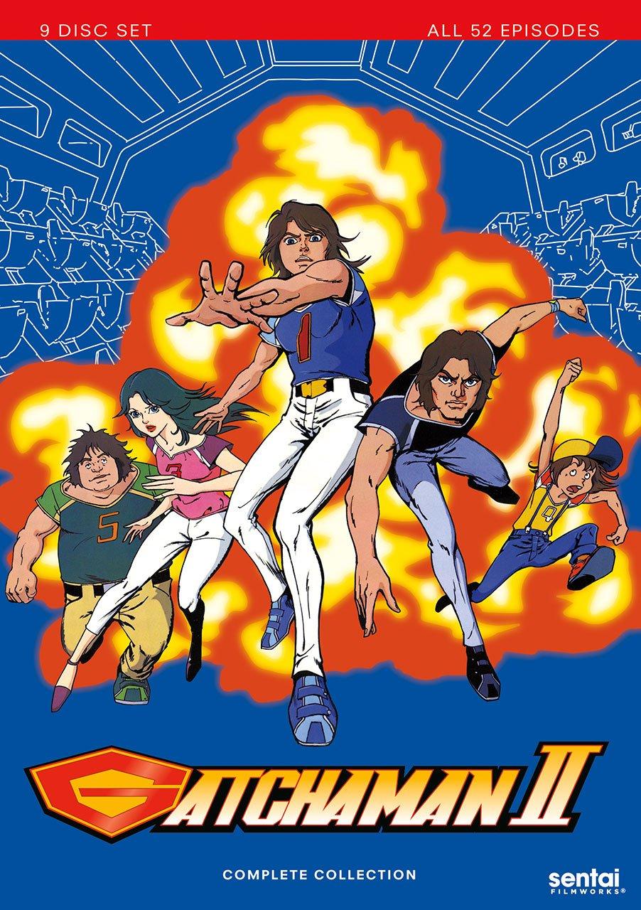 Gatchaman Ii [Edizione: Stati Uniti] [Italia] [DVD]: Amazon ...