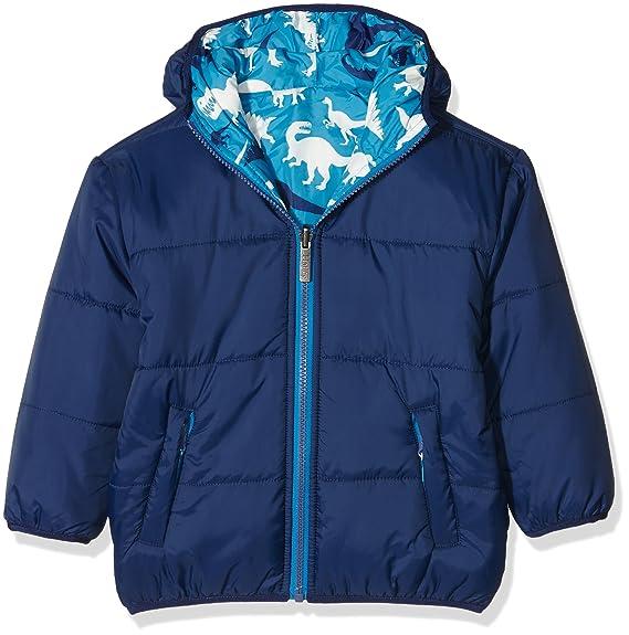 Hatley Puffer Coat-Silhouette Dinos, Abrigo para Niños, Azul (Blue), 3 años: Amazon.es: Ropa y accesorios