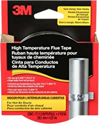 3M High Temperature Flue Tape, 15-Foot Roll