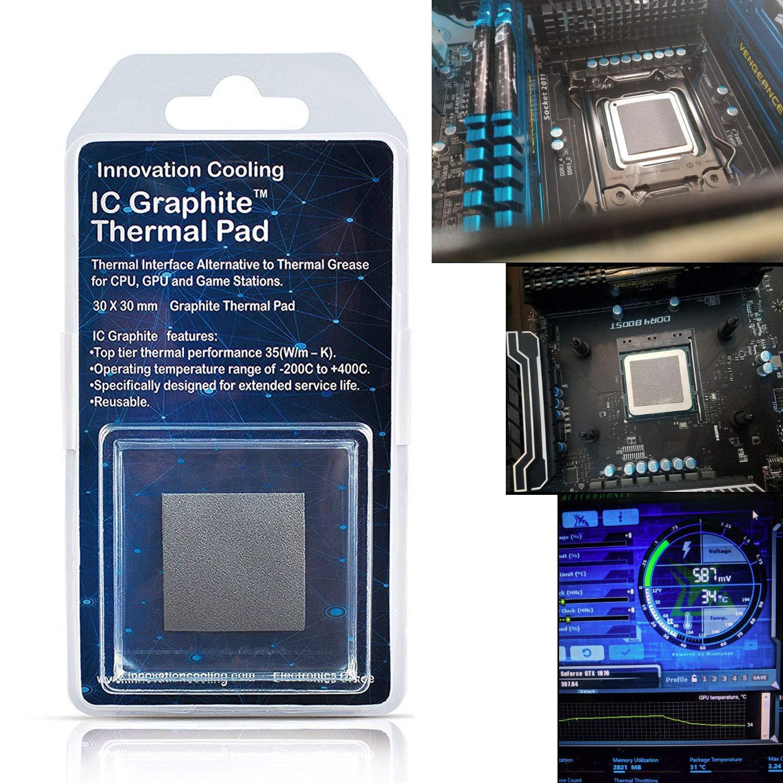 Pad Termico Ic Graphite 30x30mm 35w/m-k