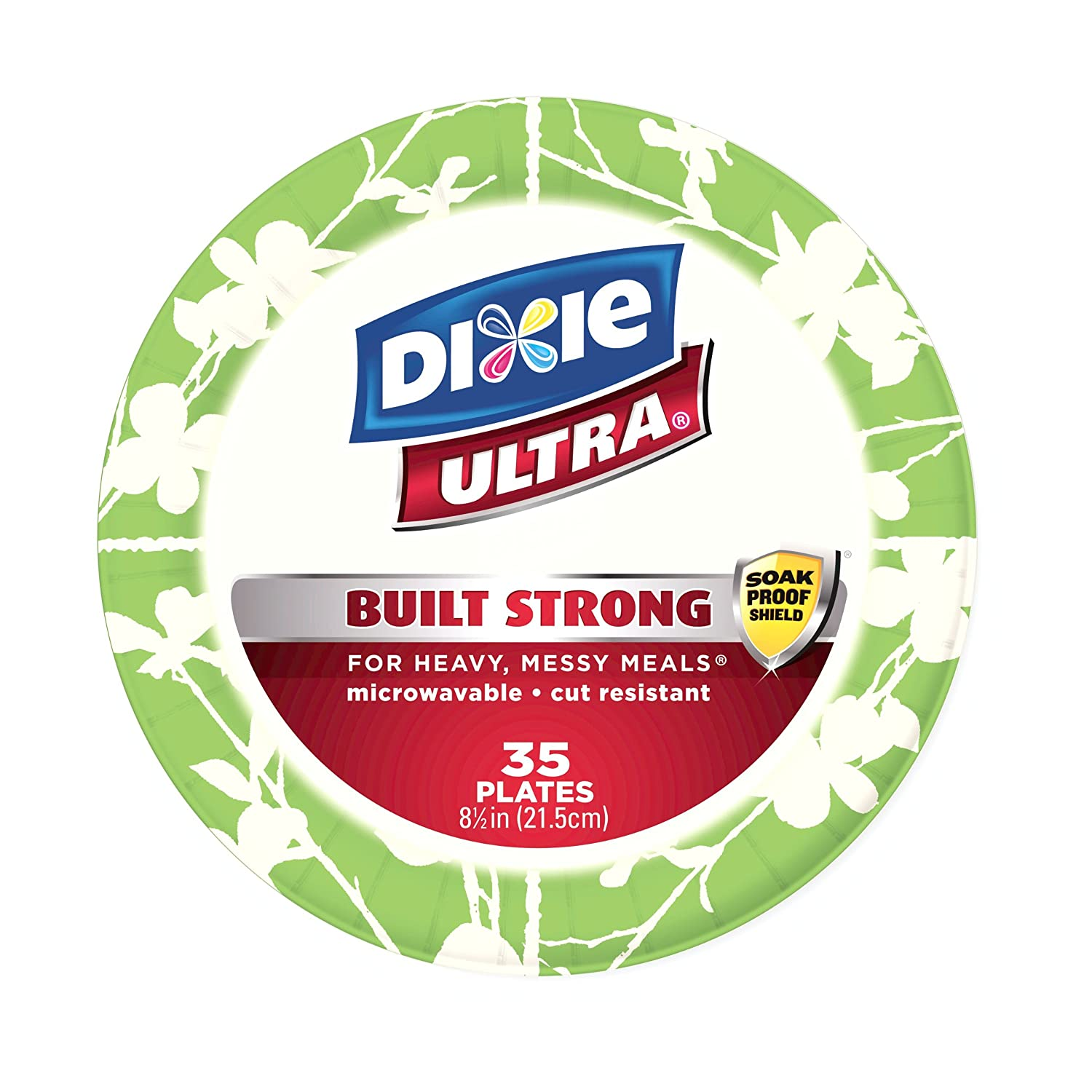 Amazon.com Dixie Ultra 8-1/2 Inches Plate 35-Count (Pack of 3) Health \u0026 Personal Care  sc 1 st  Amazon.com & Amazon.com: Dixie Ultra 8-1/2 Inches Plate 35-Count (Pack of 3 ...