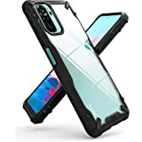 Ringke Fusion-X Compatible with Xiaomi Redmi Note 10 Case, Redmi Note 10S Case, Clear Back Heavy Duty Shockproof TPU Rugged B