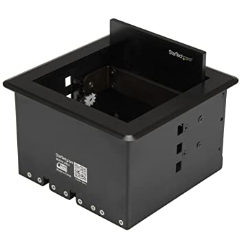 StarTechcom Conference Table Cable Management Box Table Top - Conference table box for av connectivity