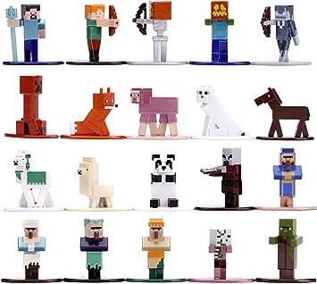 Minecraft Nano Metalfigs 20 Pack Wave 3 | 1.65 Inch Die-Cast Metal Figures: Amazon.es: Juguetes y juegos