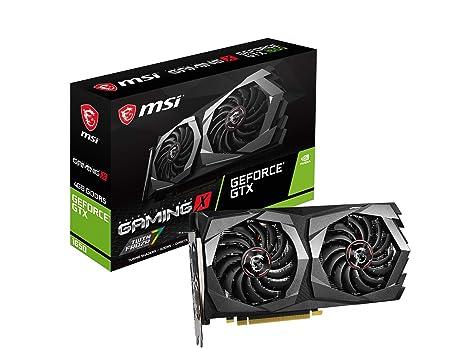 MSI GeForce GTX 1650 Gaming X 4G - Tarjeta gráfica (4 GB, GDDR5, 128 bit, 7680 x 4320 Pixeles, PCI Express x 16 3.0)