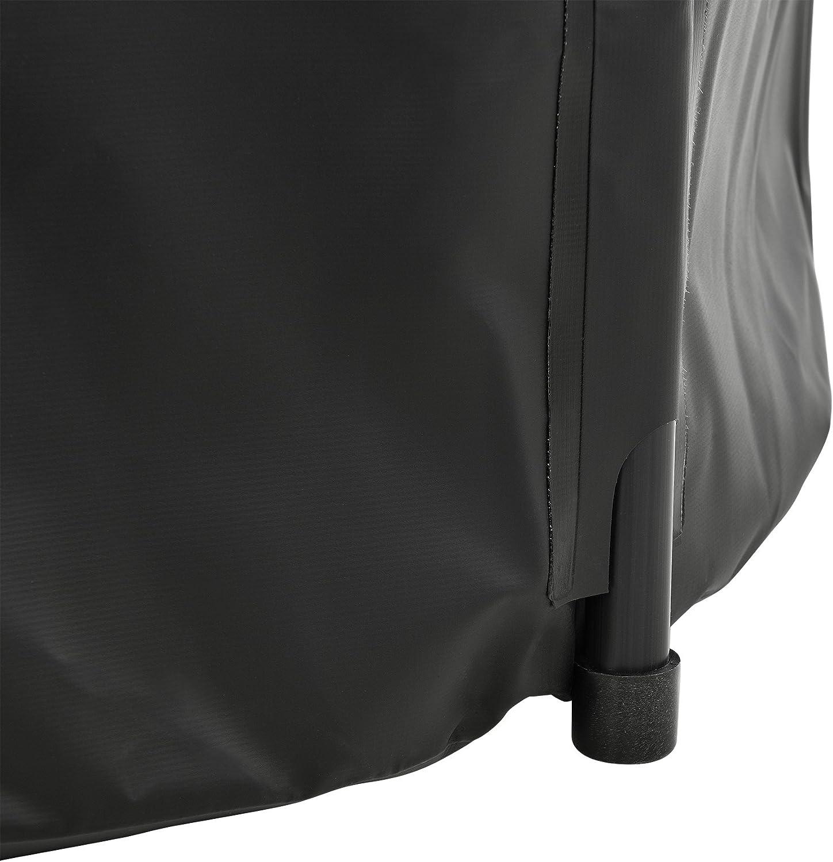 casa.pro 500D PVC Negro Tanque para el Agua de Lluvia Capacidad 500 L PVC Resistente a la oxidaci/ón y a los Rayos ultravioletas