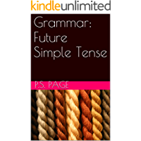 Grammar: Future Simple Tense (English Edition)