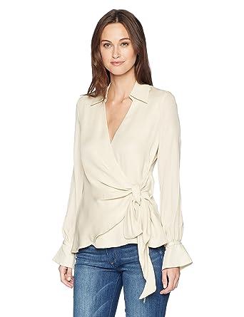 8bfb3d918566e0 Amazon.com  Haute Hippie Women s Stagecoach Blouse  Clothing