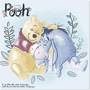 Amazon.com : 2021 Disney Winnie The Pooh Wall Calendar, 12 ...