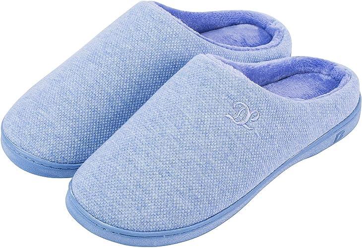 memory foam slippers mens uk