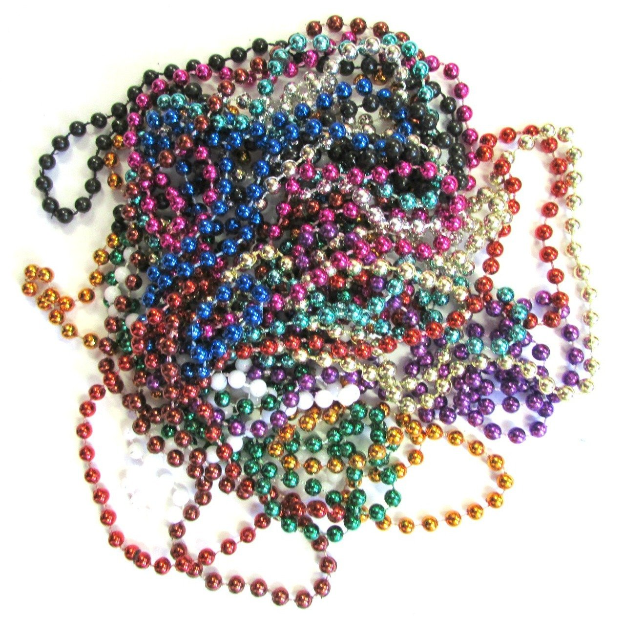 Beaded Necklace Assortment Assorted Colors Image 1