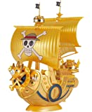 """ONE PIECE Grand Ship Collection Thousand Sunny """"FILM GOLD"""" Memorial color Ver. Plastic modelBANDAI"""