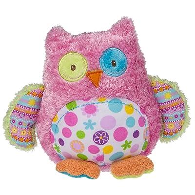 "Mary Meyer Cheery Cheeks Lil' Hoots Owl 5"" Plush: Toys & Games"