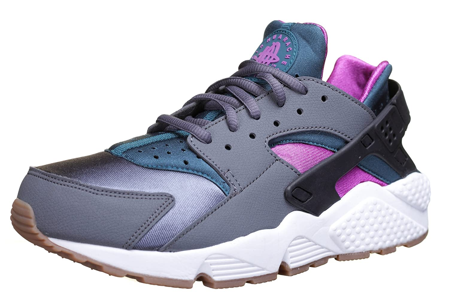5018b72438e46 Amazon.com  Nike 634835-016 Women AIR Huarache Run Dark Grey Vivid Purple Summit   NIKE  Sports   Outdoors