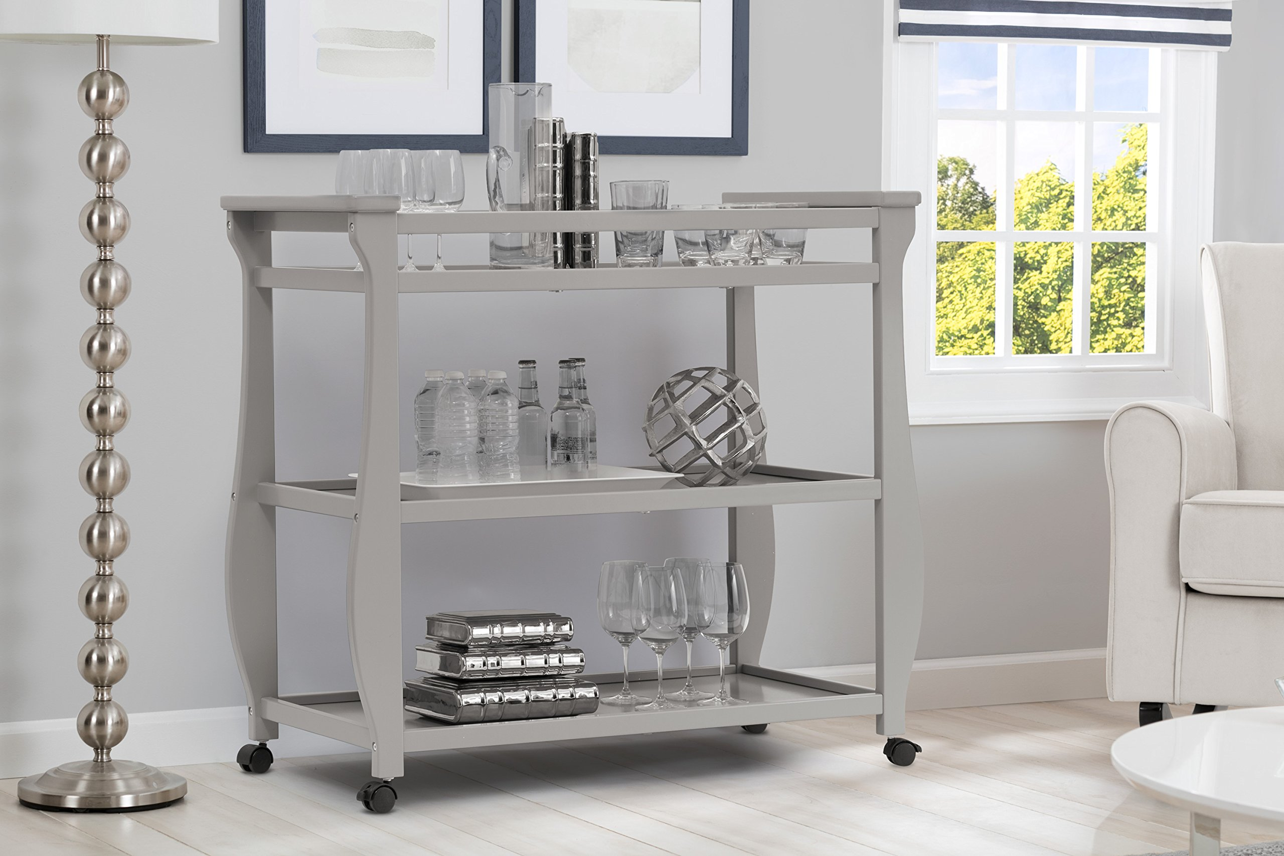 Delta Children Lancaster Changing Table, Grey by Delta Children (Image #3)