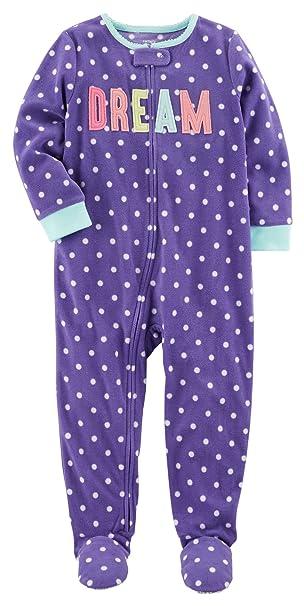 6fc263c5faa0 Amazon.com  Carter s Girls  12M-14 One Piece Dream Pajamas  Clothing