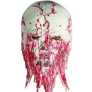 Scary Halloween Costume Horror Zombie Mummy Mask Bloody ...