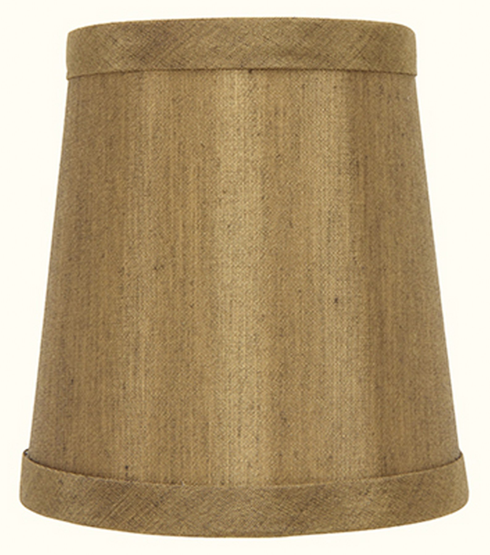 Upgradelights Golden Bronze Slip on Uno Lamp Shade (8.5x10x8)