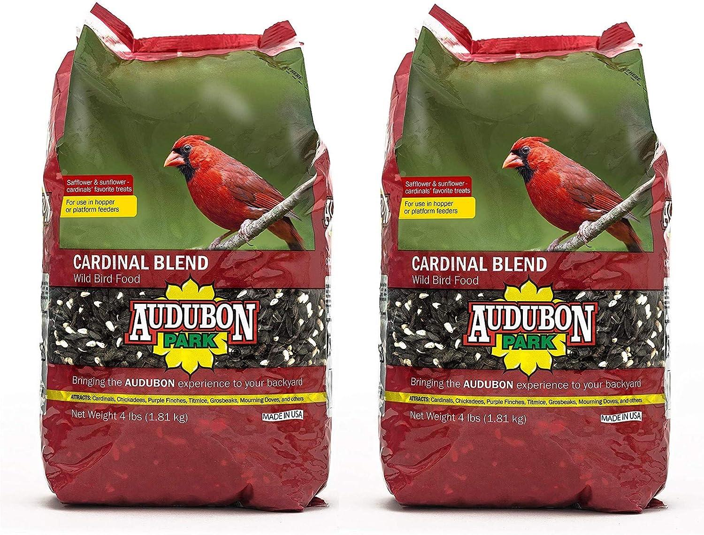 Aududon Park 12231 Cardinal Blend Wild Bird Food, 4-Pounds (2)