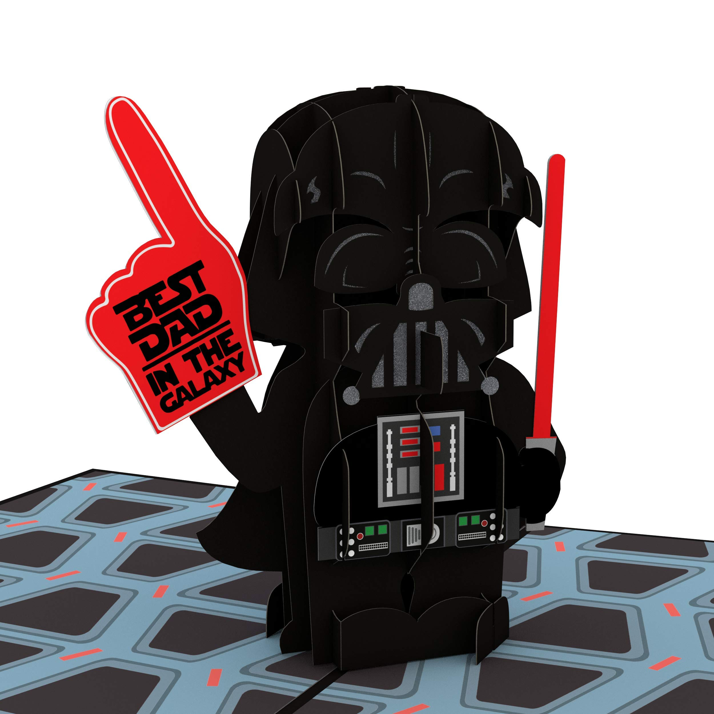 Lovepop Star Wars Darth Vader Best Dad Pop Up Card, Father's Day Card, Greeting Card, Dad Card, 3D Cards, Birthday Card, Greeting Card, Card for Dad by Lovepop (Image #1)
