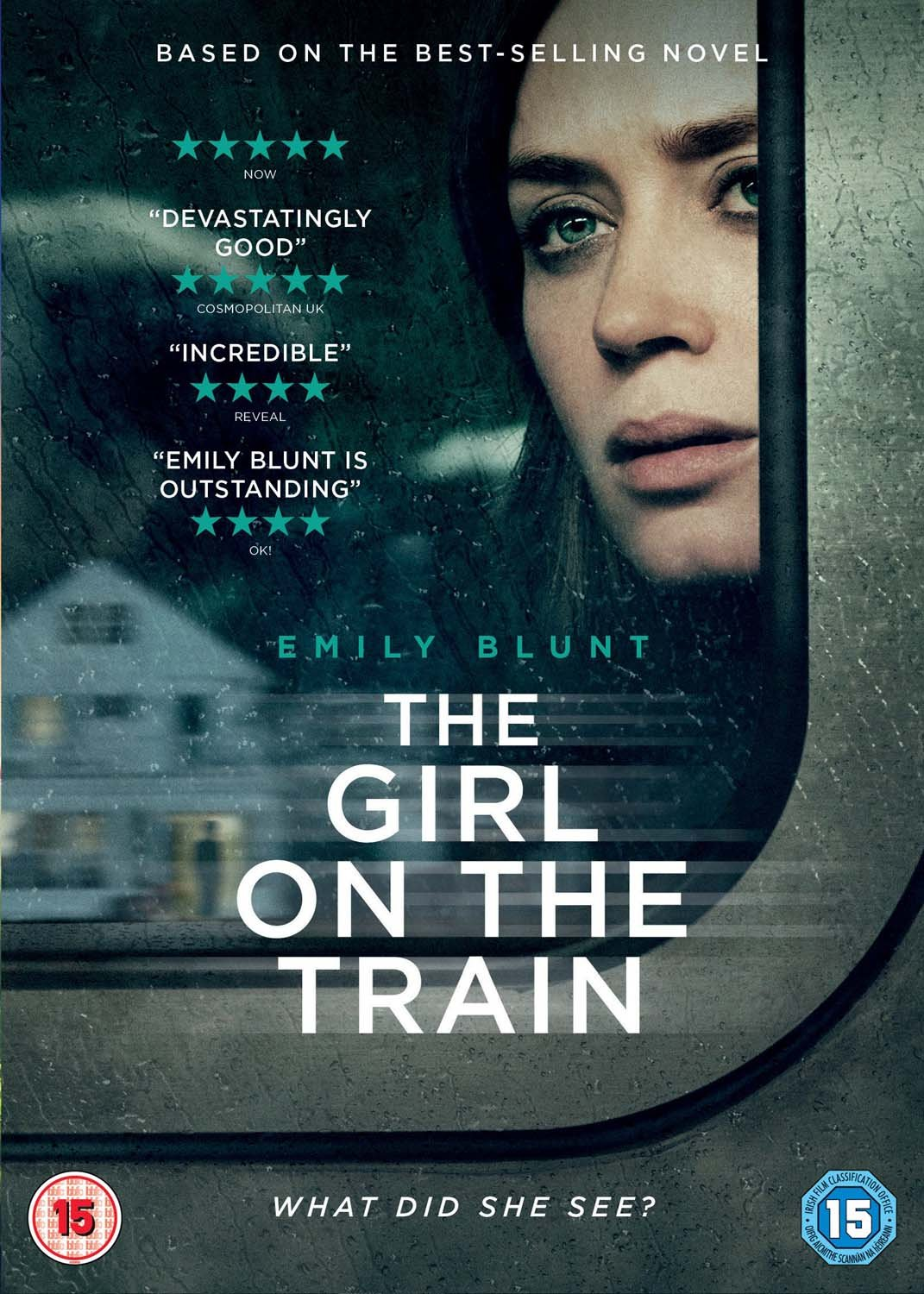 Image result for the girl on the train film poster