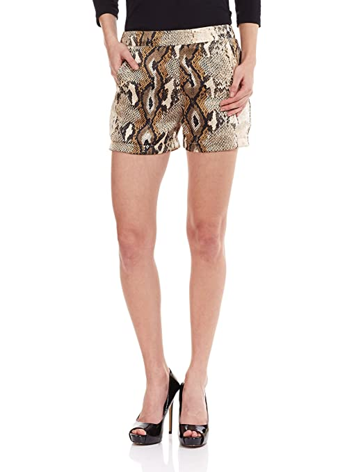 The Closet Label Women's Satin Shorts Shorts at amazon
