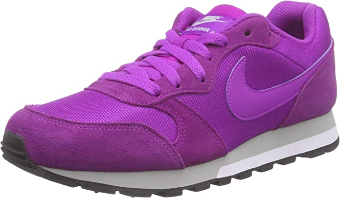 Nike MD Runner 2 Sneakers Damen Lila (Violett)