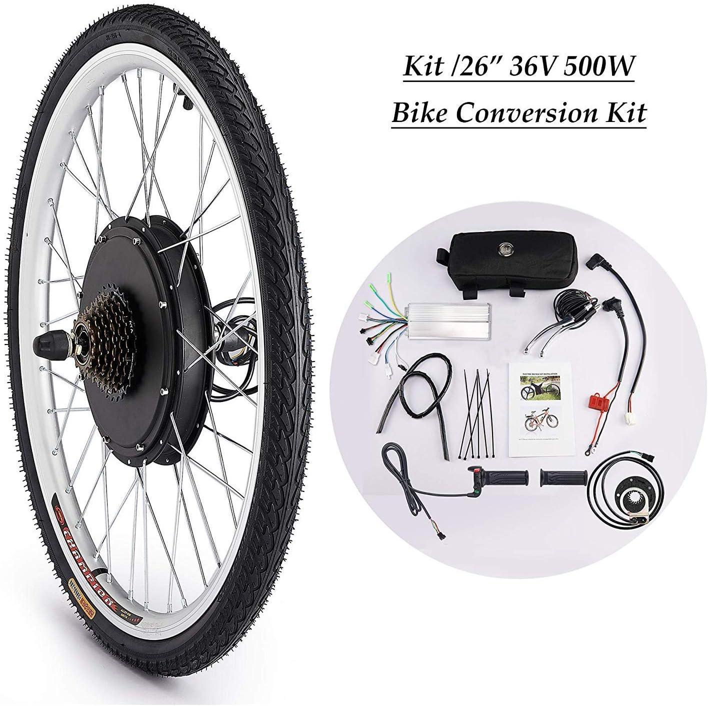 Sfeomi - Kit de conversión de Bicicleta eléctrica de 36 V, 500 W ...