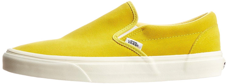 d8defcde9c2a vans classic slip on vintage suede sulphur yellow