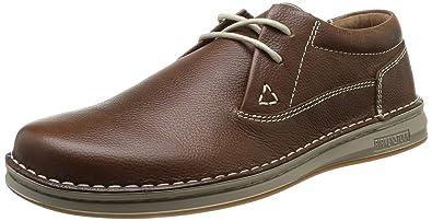 Birkenstock Memphis, Sneakers Basses homme, Marron (Mid Brown), 44 EU