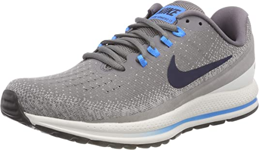 Nike Air Zoom Vomero 13, Zapatillas de Running para Hombre, Gris (Gunsmoke/Obsidian-Atmosphere Grey 007), 45.5 EU: Amazon.es: Zapatos y complementos