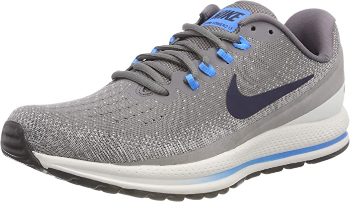Nike Air Zoom Vomero 13, Zapatillas de Running para Hombre, Gris (Gunsmoke/Obsidian-Atmosphere Grey 007), 47 EU: Amazon.es: Zapatos y complementos